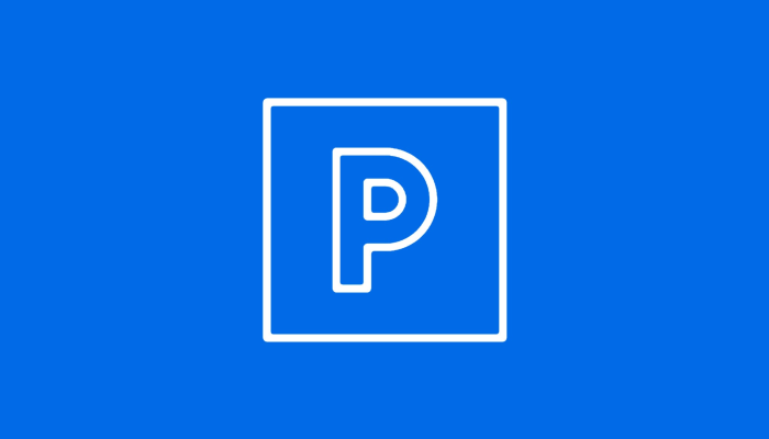 Parkeerticket Simply Red