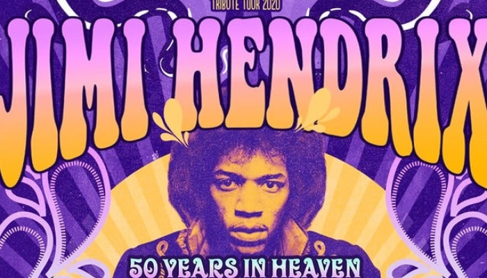 Jimi Hendrix Tribute Tour 2020 - 50 years in heaven