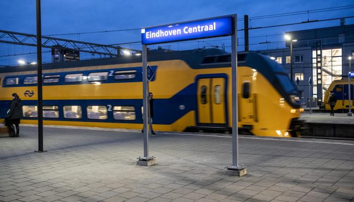 Vanaf elk station in Nederland