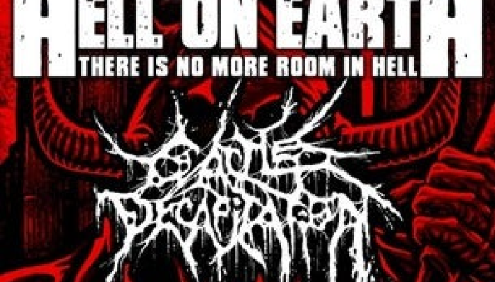 Hell On Earth 4, Ft Aborted, THE ACACIA STRAIN, BENIGHTED + FLEDDY MEL
